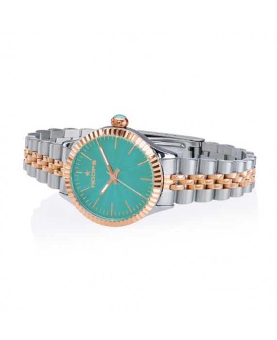 Orologio Donna Hoops Luxury Silver And Gold 2560LSRG06