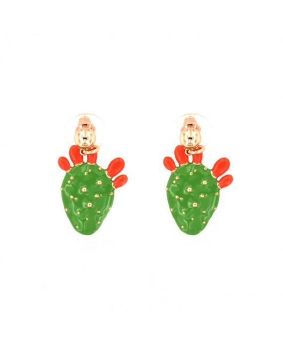 Orecchini Donna Bysimon BYS Bijoux Sicily Cactus 3510895