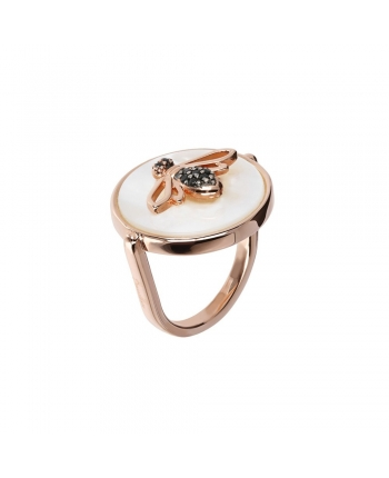 Anello Donna Bronzallure Milano Golden Rosè Lira Collection Ape WSBZ01463.WM-14