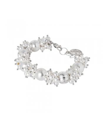 Bracciale Donna Boccadamo Jewels Perle Swarovski Romantica RBR016W