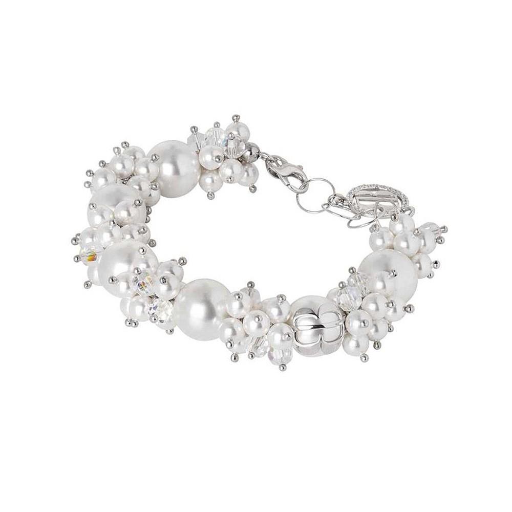 vendita calda online 351c3 da06f Bracciale Donna Boccadamo Jewels Perle Swarovski Romantica RBR016W