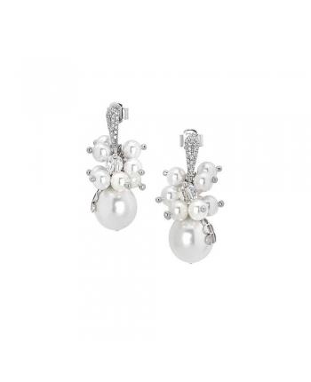 Orecchini Donna Boccadamo Jewels Perle Swarovski Romantica ROR014W