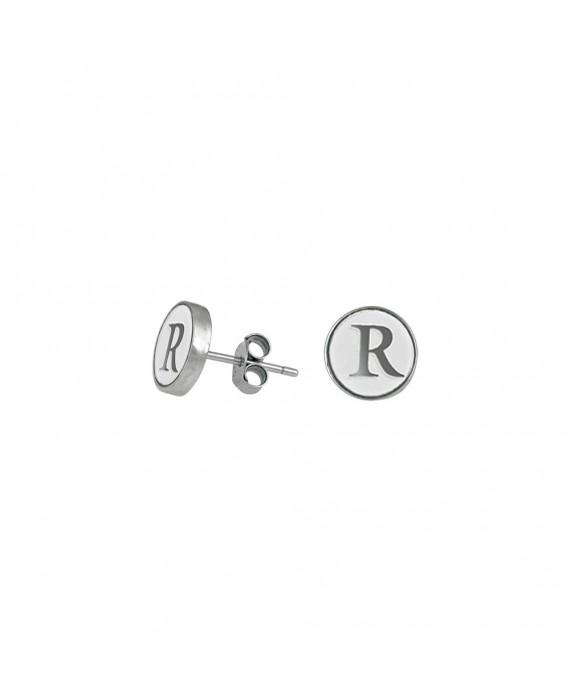 Orecchini Personalizzabili Donna Osa Jewels Name Collection Lettera 9 mm