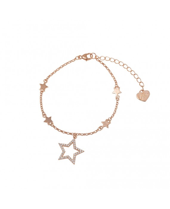 Bracciale Donna Argento Rose Gold Osa Jewels Mayrose Stella 8106