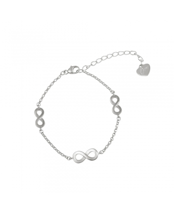 Bracciale Donna Argento Osa Jewels Mayrose Infinito 8040