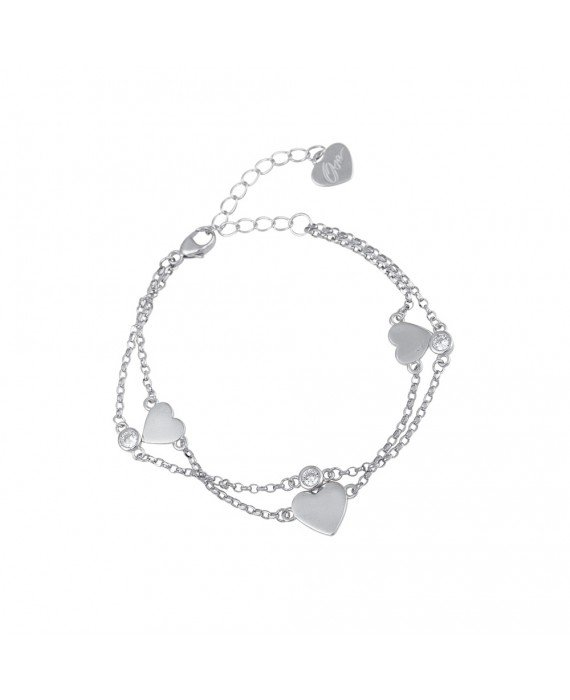 Bracciale Donna Argento Osa Jewels Mayrose Cuore 8082