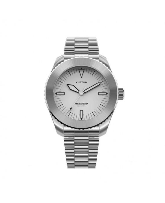 Orologio  Personalizzabile Uomo Kustom Watches 41 mm Acciaio Inox Silver