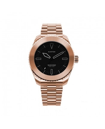 Orologio  Personalizzabile Uomo Kustom Watches 41 mm Acciaio Inox Rose Gold