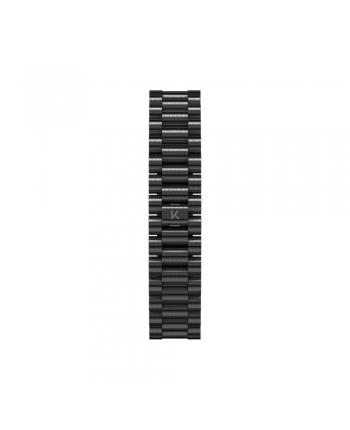 Cinturino Kustom Watches Orologi Personalizzabili Acciaio Finish Opaco Nero ST-C-02