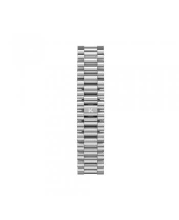 Cinturino Kustom Watches Orologi Personalizzabili Acciaio Silver Finish Opaco ST-C-01