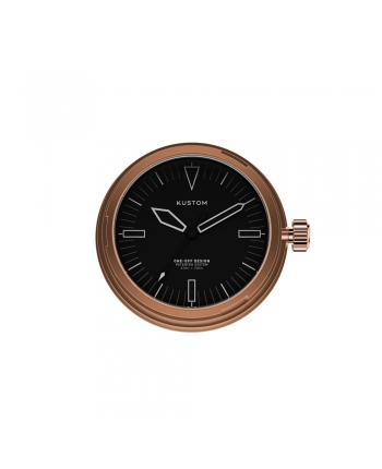 Quadrante Nero Orologio Kustom Watches Rose Gold DI-A-03