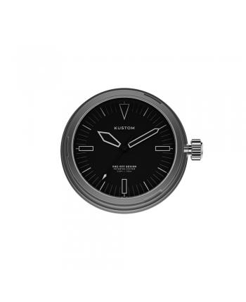 Quadrante Nero Orologio Kustom Watches Silver DI-A-01