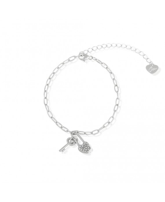 Bracciale Donna Osa Jewels Keylove Lucchetto Cuore Chiave 9914