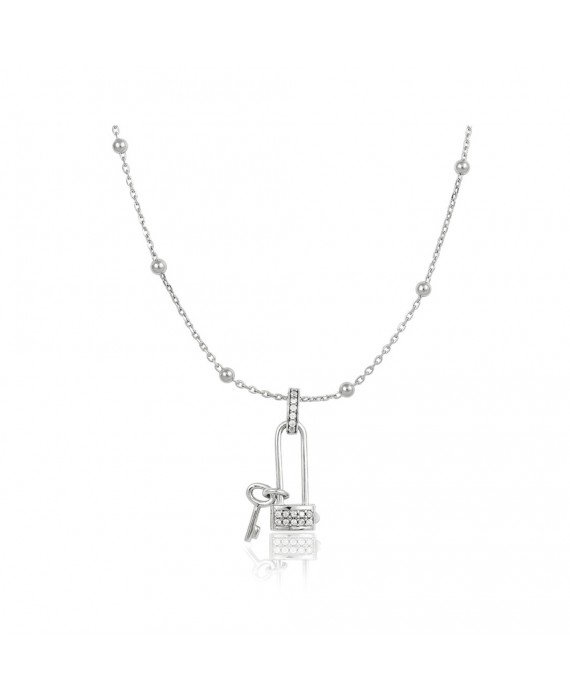 Collana Donna Osa Jewels Keylove Lucchetto Chiave Small 9902