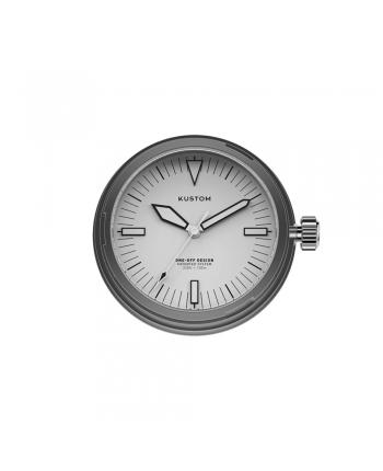 Quadrante Bianco Orologio Kustom Watches Acciaio Inox Silver 07-DI-C-01