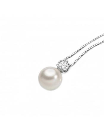 Collana Donna Ambrosia Gioielli Oro Perle AGP061