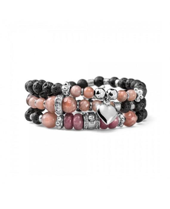 Bracciale Multifilo Donna Maria Cristina Sterling Luxury Stone G3427