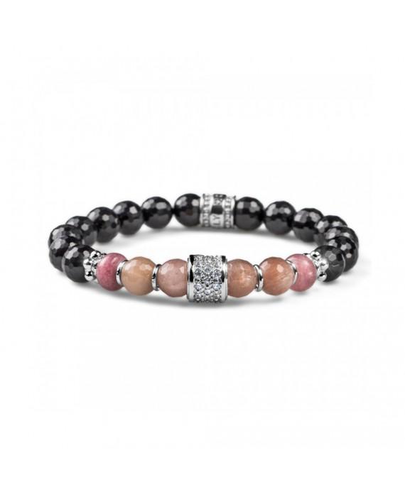 Bracciale Elastico Donna Maria Cristina Sterling Luxury Stone G3420
