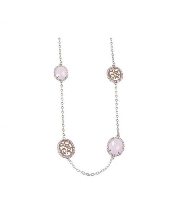 Collana Lunga Donna Boccadamo Jewels Sharada Rosa XGR201R