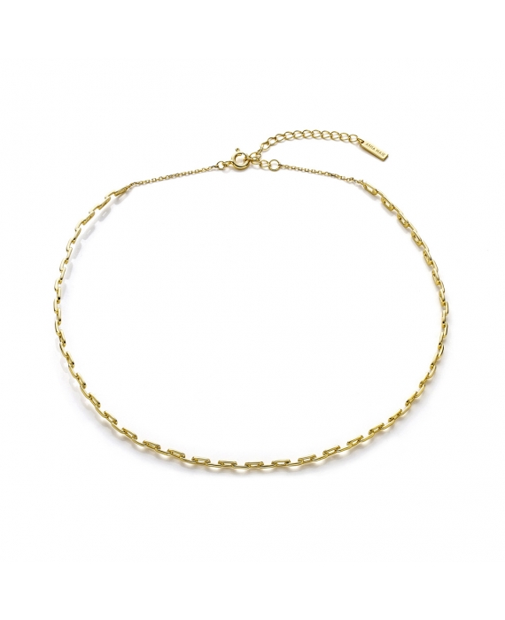 Collana Choker Donna Argento Sterling Ania Haie Link C004-01G