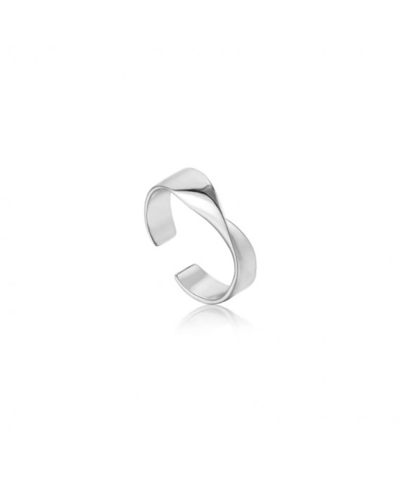Anello Donna Argento Sterling Ania Haie Twister R012-01H