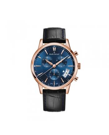 Orologio Svizzero Uomo Claude Bernard Classic Cronograph Data 01002 37R BUIR