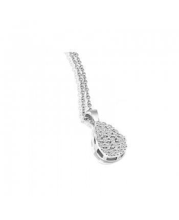 Collana Donna Mey Jewels Oro Bianco Diamanti Gioele Collection CD MEY/GCA-DR