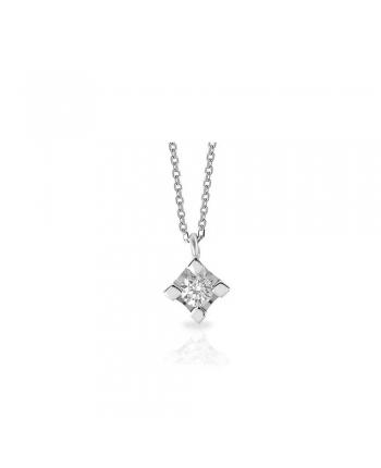 Collana Punto Luce Mey Jewels Gioele Oro Bianco Diamante CD MEY/GRF-B