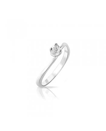 Anello Solitario Donna Mey Jewels Oro Gioele Collection Diamante AN MEY/SO-B05
