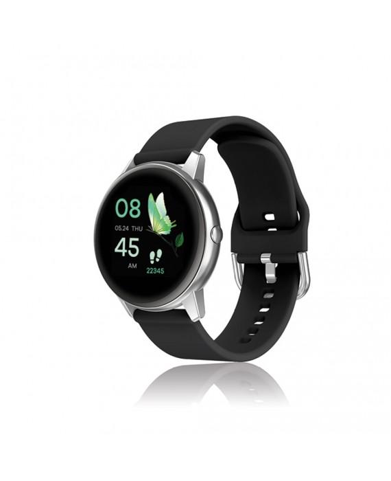 Orologio Smartwatch Unisex David Lian Parigi Silicone Nero DL105