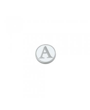 Lettera Calamita Donna Osa Jewels Name Collection Argento Smaltata 12 mm