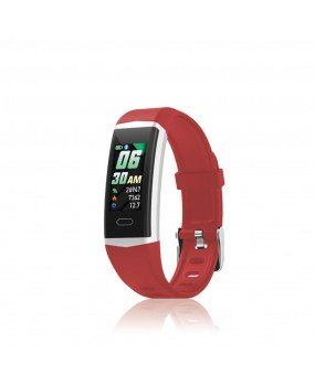 Orologio Smartwatch Unisex David Lian Hong Kong Silicone Rosso DL124
