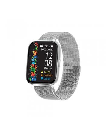 Orologio Smartwatch Unisex Boccadamo Time StartMe Plus Mesh Silver MP002