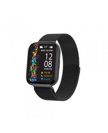 Orologio Smartwatch Unisex Boccadamo Time StartMe Plus Mesh Nero MP001