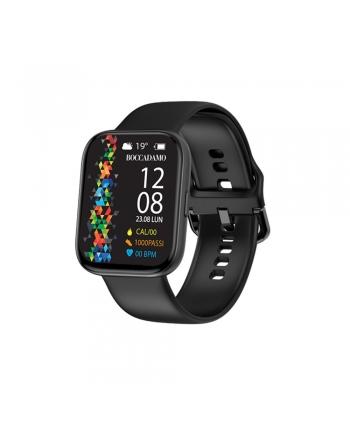 Orologio Smartwatch Unisex Boccadamo Time StartMe Plus Silicone Nero MP004