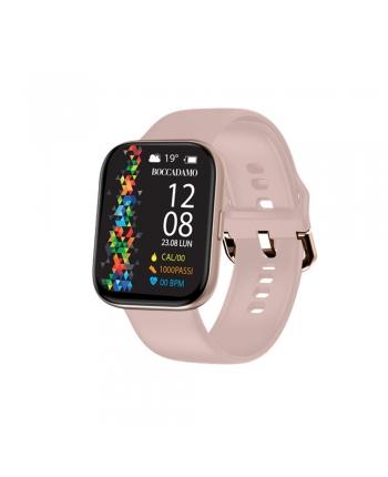 Orologio Smartwatch Unisex Boccadamo Time StartMe Plus Silicone Rosa MP005