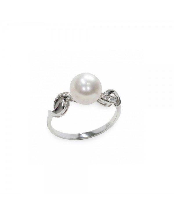 guida alle perle anello perla rotonda